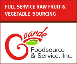 GAAARDE FOODS - FULL SERVICE RAW FRUIT & VEGETABLE SOURCING